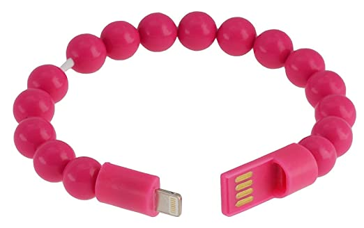 20 opinioni per OKCS- Braccialetto Cavo di carica Lightning USB per iPhone 7, 7 Plus, 6, 6 Plus,
