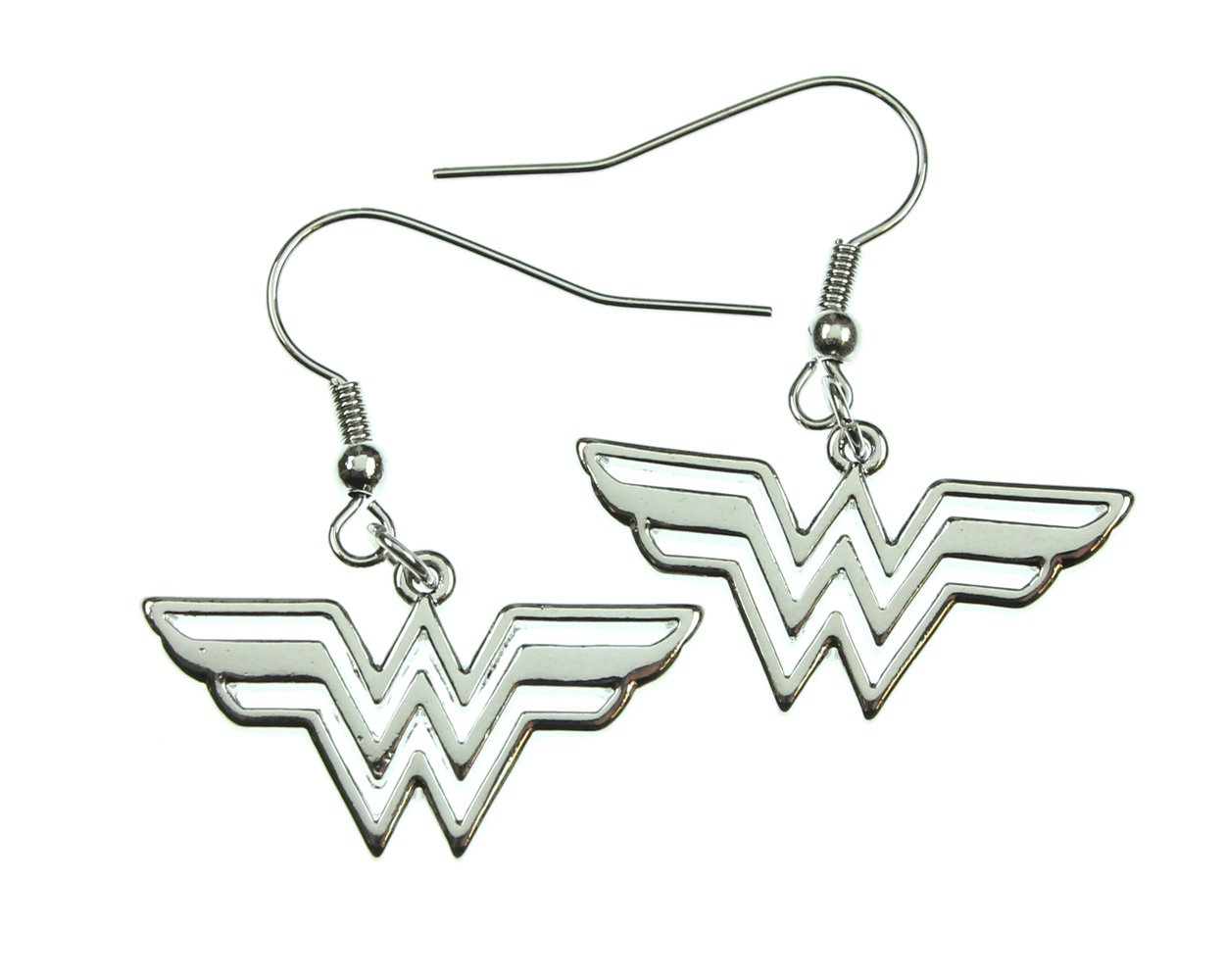 Wonder Woman 316l Surgical Stainless Steel Earrings. by DC Comics