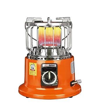 Tossi Estufa De Calefacción Al Aire Libre Calentador De Gas Natural Licuado Ideal para La Pesca En Hielo,Naturalgas: Amazon.es: Hogar