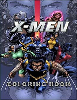 Amazon.com: X-MEN coloring book (9781983742729): Mr Jack: Books
