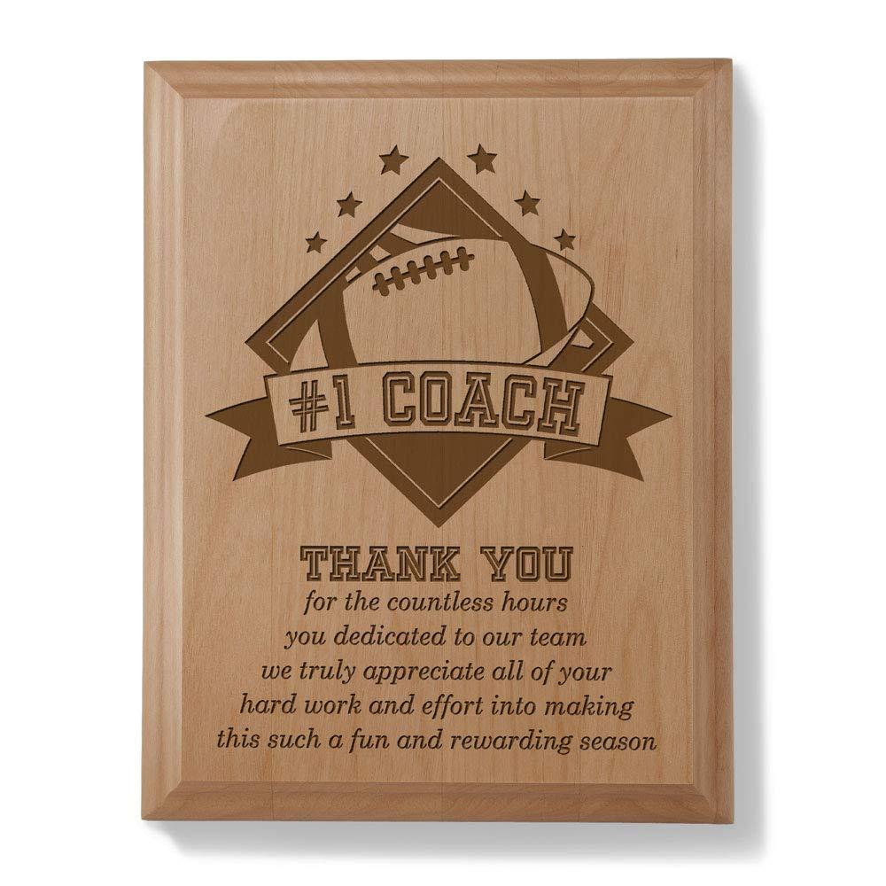 Kate Posh -  1 Football Coach Plaque and Award by Kate Posh B00IA9FUYY | Um Eine Hohe Bewunderung Gewinnen Und Ist Weit Verbreitet Trusted In-und