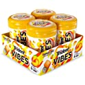 4-Bottles of 40-Count Trident Vibes Tropical Beat Sugar Free Chewing Gum
