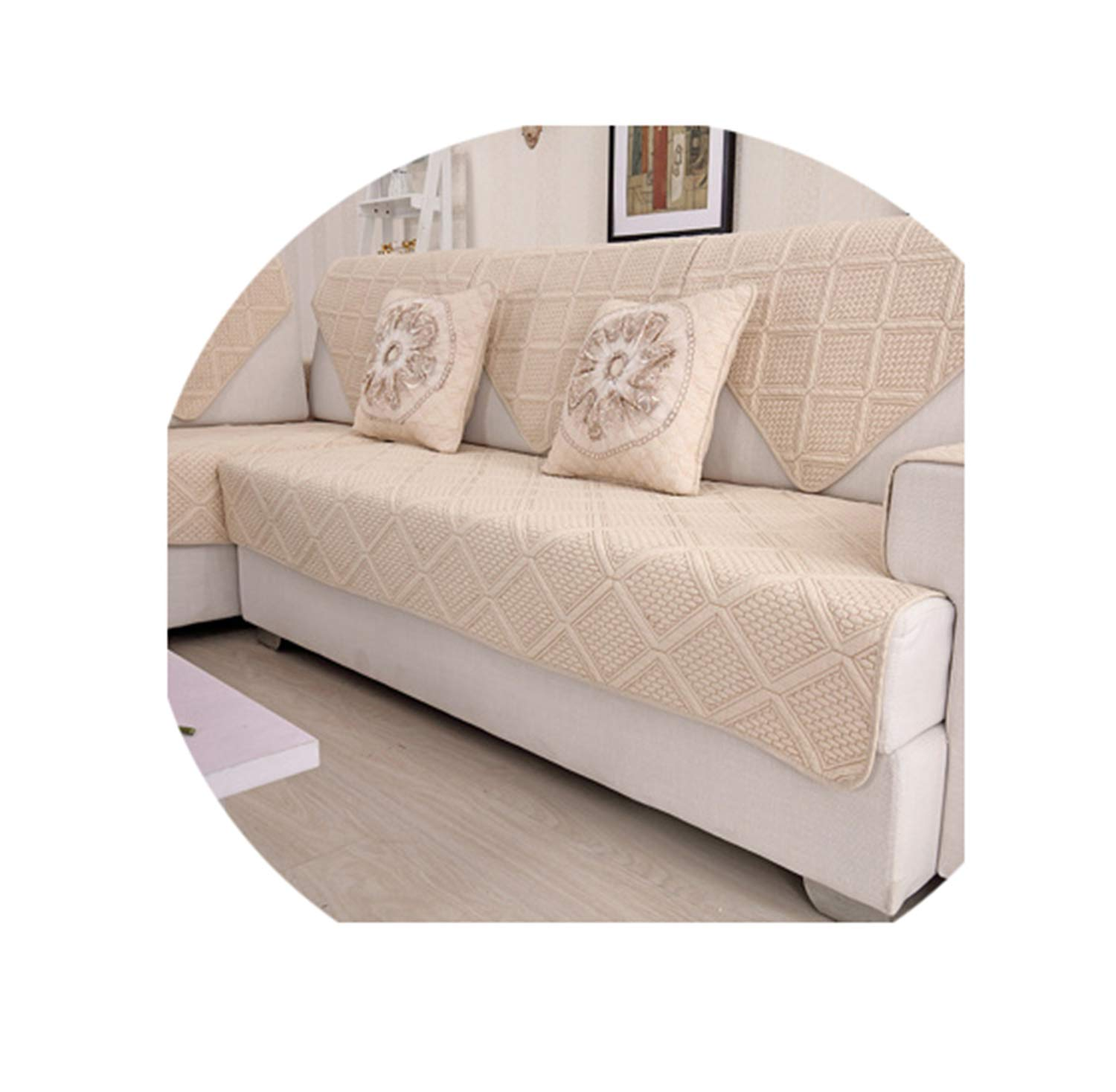 Amazon.com: New Modern Style Sofa Slipcovers Cotton ...