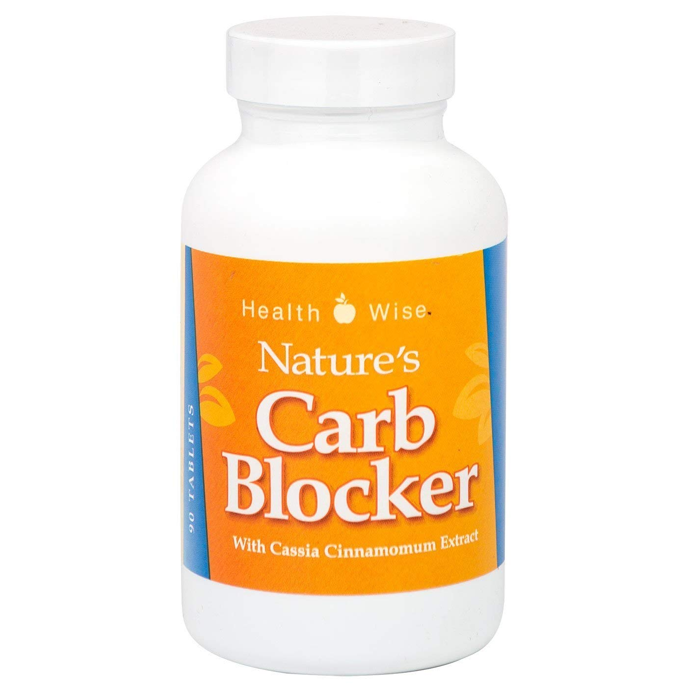 HealthSmart Supplement - Nature's Carb Blocker - Diet Supplement - Starch Neutralizer - Natural Ingredients - 90 Tablets