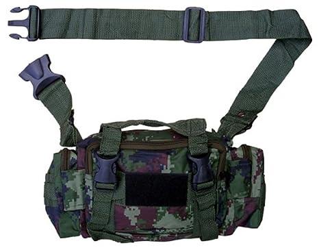 Army Combat Utility Belt  Military Retro Travel Waist Bum Day Pack Bag Camo DPM