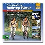 Spiralo BahnRadRoute Hellweg-Weser: Radeln auf historischen Hansewegen Soest-Bielefeld-Hameln 1:50000