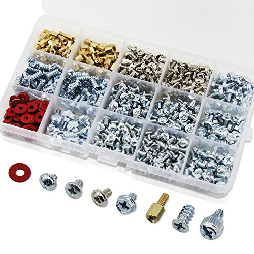 Stainless Assortment Washers 300PCS Screw 620PCS