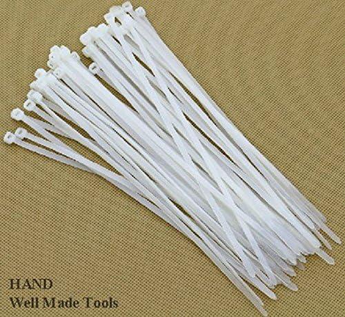 "500PCS 15/"" Nylon Plastic Zip Trim Wrap Tie Cable Loop Cord Wire Self Lock 120lb"