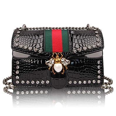 a082ac938fdc35 Beatfull Designer Shoulder Bag for Women, Fashion Bee Crossbody Bag Handbags  with Chain: Handbags: Amazon.com