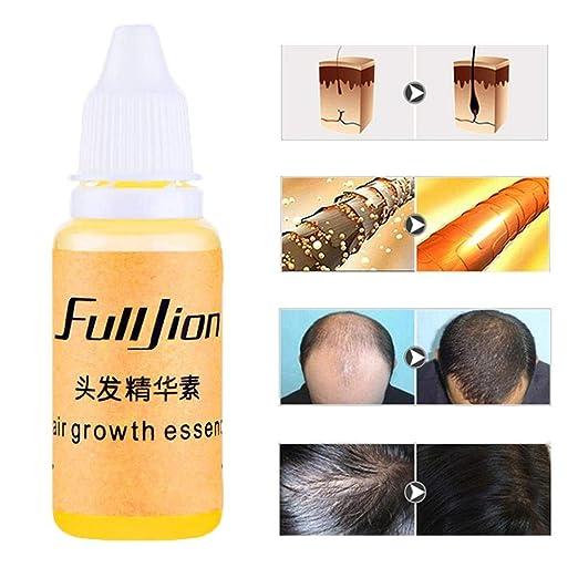 Anti caída del cabello Serum, Hair Growth Essence Cuidado Del Cabello Jengibre Repair Damage Anti Hair Loss Esencia el cuidado del cabello pelo Crecimiento ...