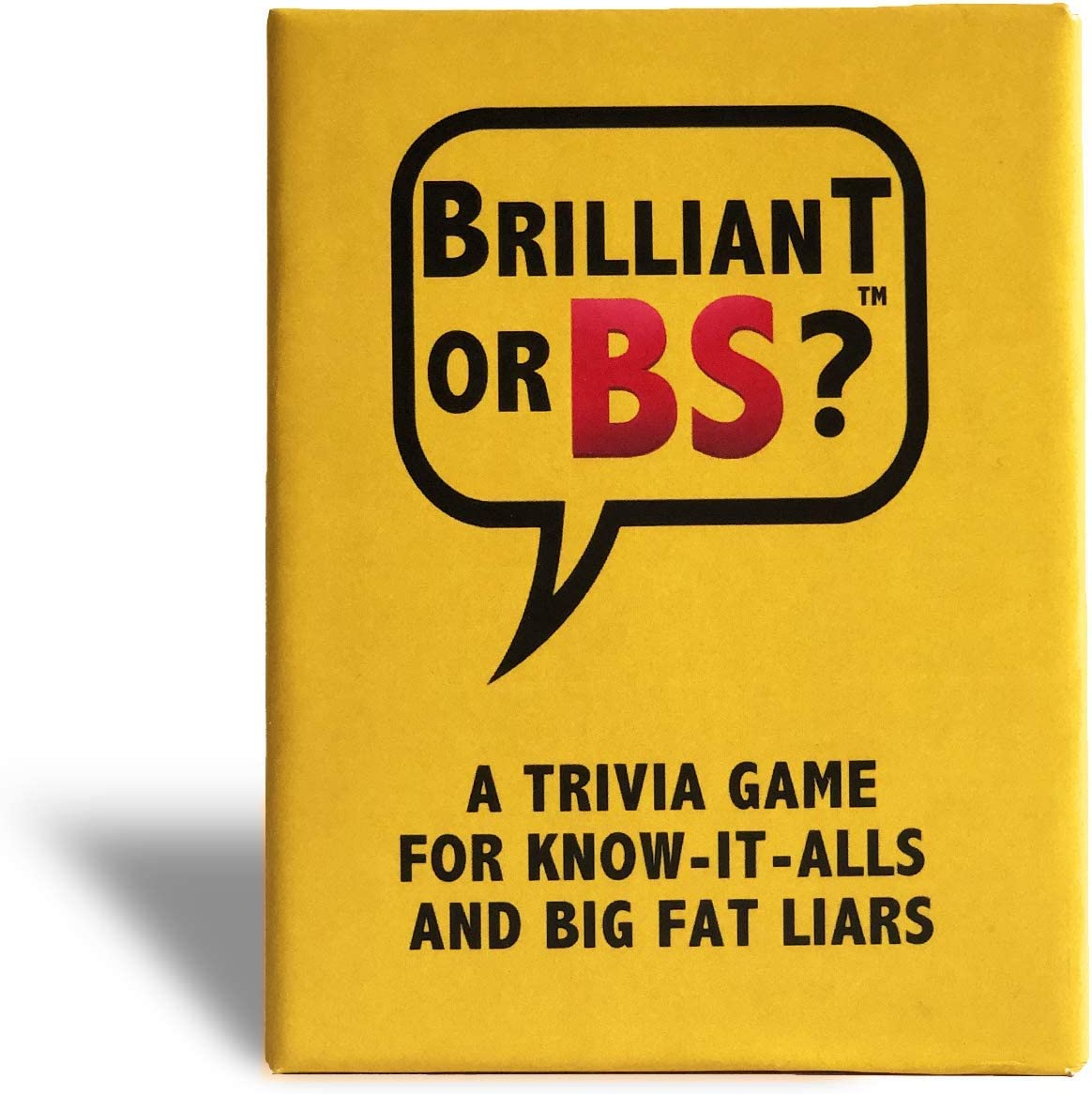 Brilliant or BS Cover Art