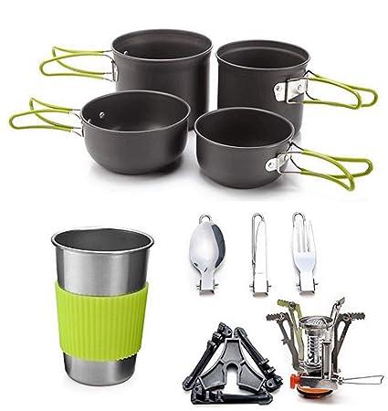 Amazon.com: Cocina para 2 – 3 personas, soporte para estufa ...