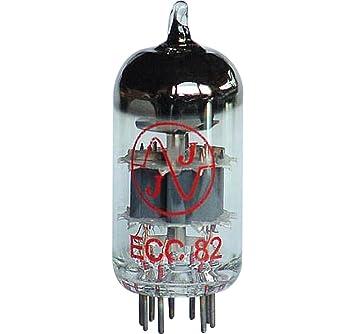 JJ Electronics 12 AU7/ecc82 preamplificador tubo de vacío: Amazon.es: Instrumentos musicales