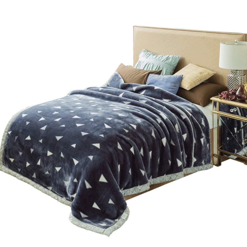 ラッシェルブランケットダブル厚い珊瑚フリースブランケット暖かい冬の寮シングルダブルブランケットシュリンクは刺激なしで消えません (サイズ さいず : 150 * 200cm) B07JHJDYXX  150*200cm
