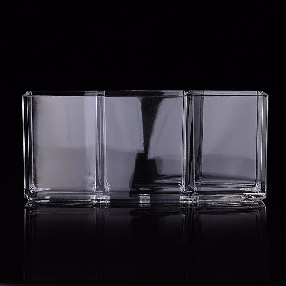3 Facher Make Up Pinsel Halter Kosmetik Oorganiser Paletten Acryl