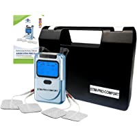 Aparato electroestimulador TENS STIMPRO Comfort - (2 canales, 9 programas) - Uso sencillo - Alivio del dolor y masaje - Calidad axion