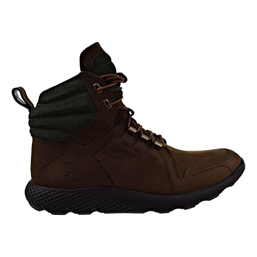 Timberland Flyroam Leather Dark Brown Mens Boots tb0a1lpy