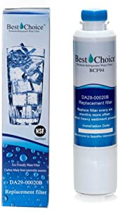 Samsung DA29-00020B Compatible Refrigerator Water Filter By Best Choice Water Filters Certified Replacement Fits HAF-CIN EXP (1)