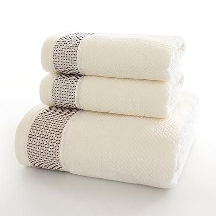 followarm Ultra suave 3 piezas Juego de toallas (1 toalla de baño, 1 toalla