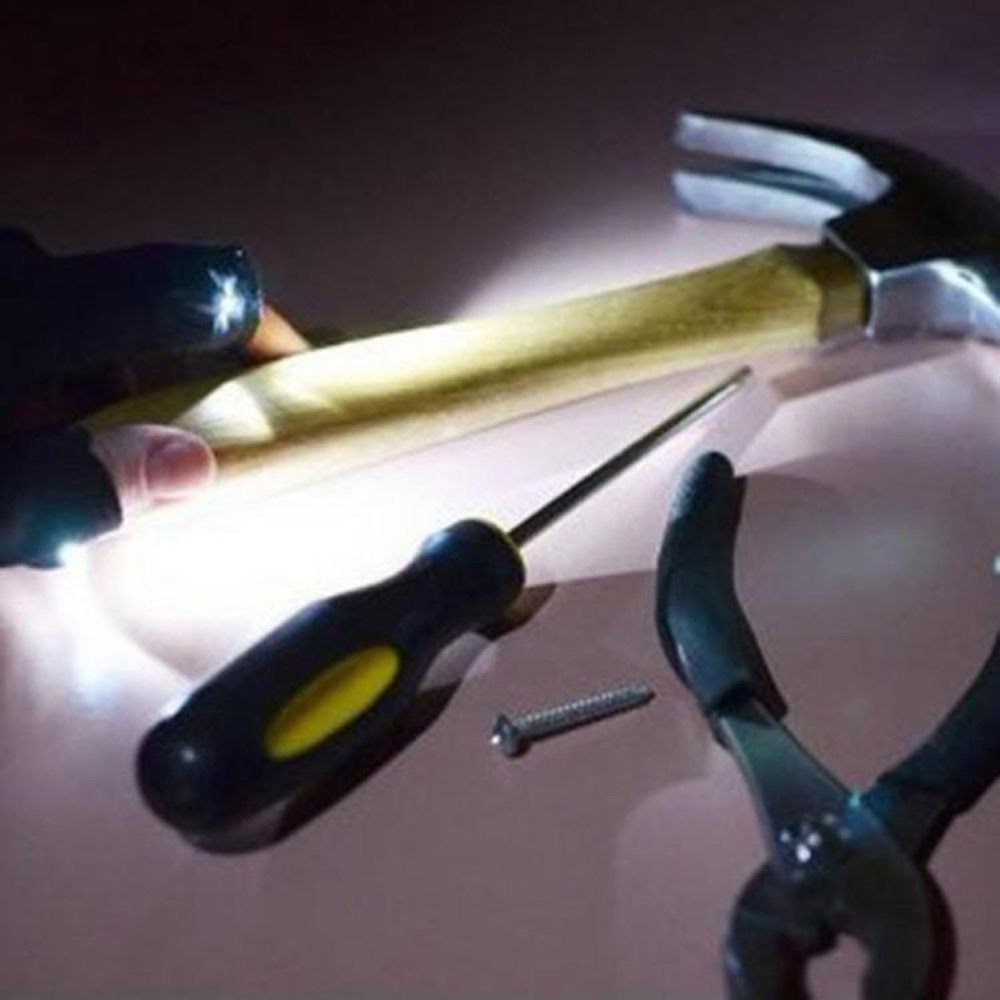 ODJOY-FAN Nacht Angeln Handschuh mit LED Licht Rettung Werkzeuge Draussen Ausr/üstung Handschuhe LED Mit Licht Angeln Handschuhe Radfahren Scheinwerfer Handschuhe
