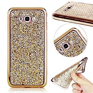 MOMDAD Coque pour Samsung Galaxy J7(2016) TPU Case Accesoire Housse Silione Souple Etui Gel Léger Flexible Couverture Protection Arrière Etui Cover