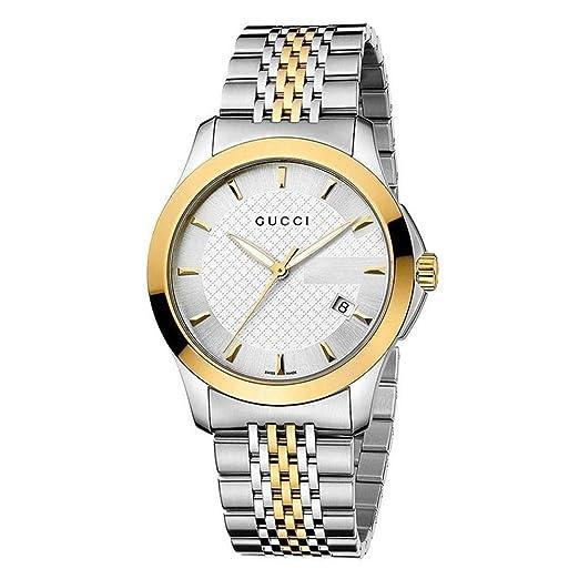 Amazon.com: Gucci YA126409 para hombre caja y pulsera de ...