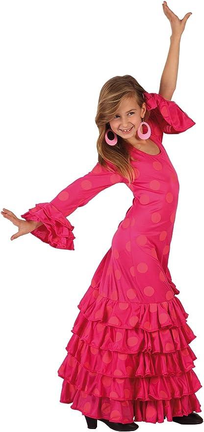 LIBROLANDIA - Disfraz de sevillana para niña, talla 7-9 años (7137 ...