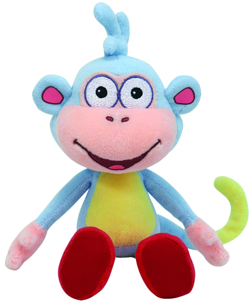 Ty Beanie Baby Boots Dora's Monkey Dora the Explorer 40665