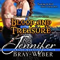 Blood and Treasure : Romancing the Pirate, Book 1 Audiobook by Jennifer Bray-Weber Narrated by Voices Online Now