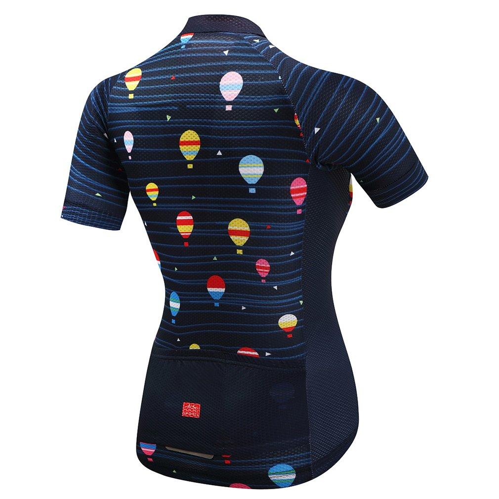 Amazon.com: nawing maillot de ciclismo para mujer, verano ...