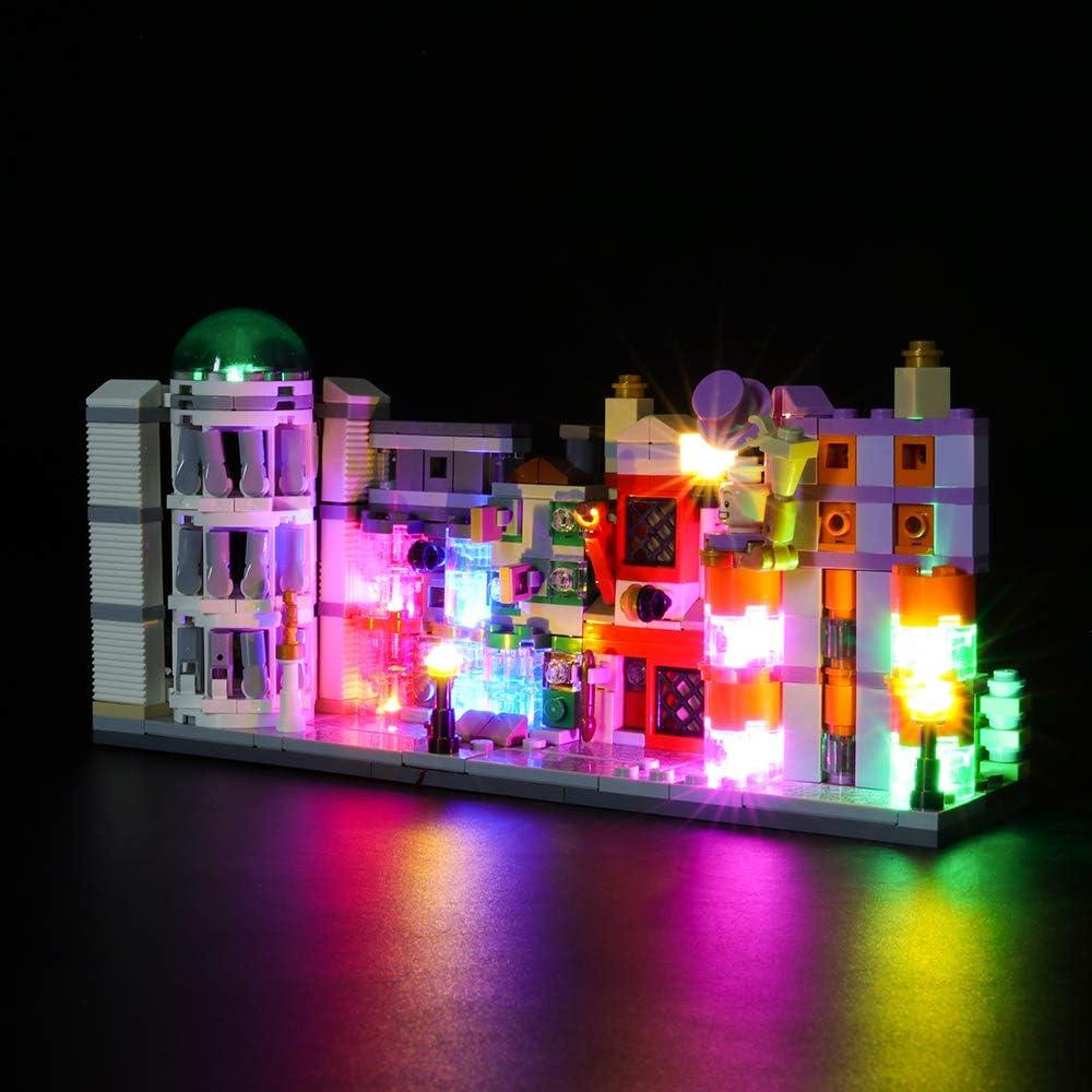 LED Lighting Kit for Lego Diagon Alley 75978 Harry Potter