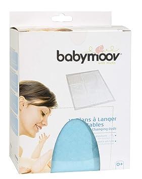 Babymoov 432201 - Cambiadores ultra absorbentes y desechables, tamaño 44.5 x 60.5 cm (pack de 10 unidades): Amazon.es: Bebé