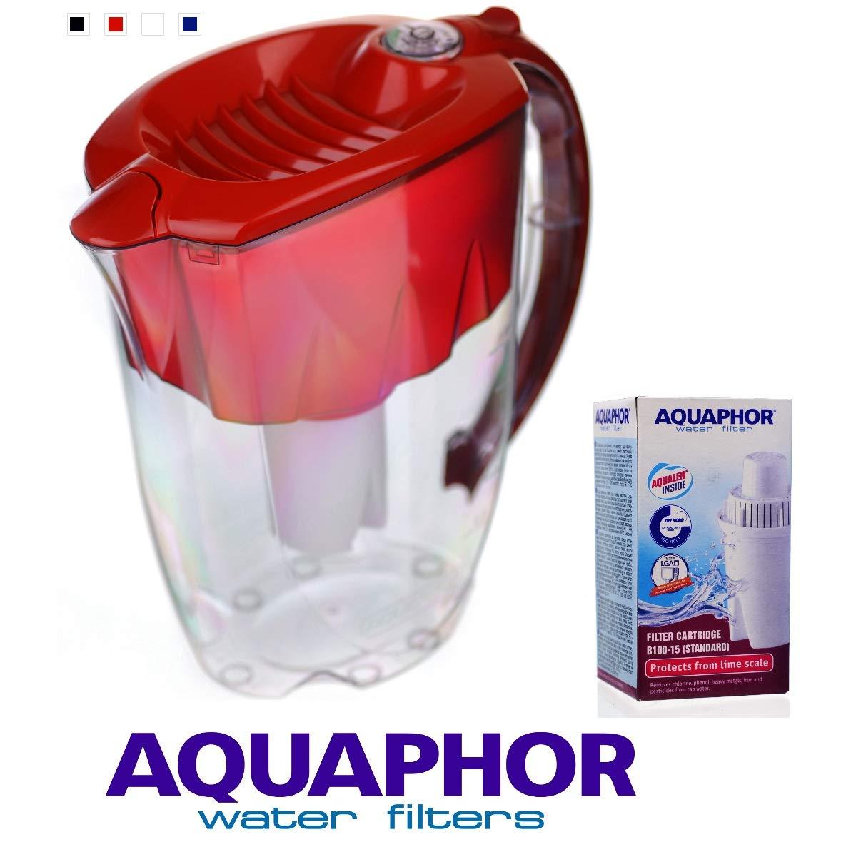 Aquaphor ideale Ruby caraffa filtrante 2.8l e 1+ 6cartucce di Classic 170l Prezzi