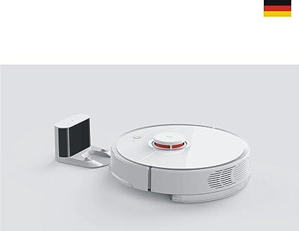 Xiaomi Mi Robot Robo Rock Vacuum Cleaner 2ª generación EU Blanco Versión Global CE de Alemania