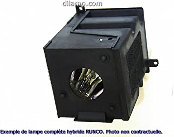 Power by Ushio Replacement Lamp Assembly with Genuine Original OEM Bulb Inside for RUNCO CL-710 Projector