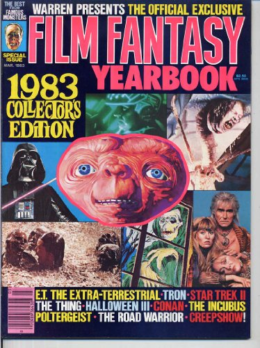 Famous Monsters of Filmland 1983 Film Fantasy YEARBOOK E.T. The Extra-Terrestrial ROAD WARRIOR