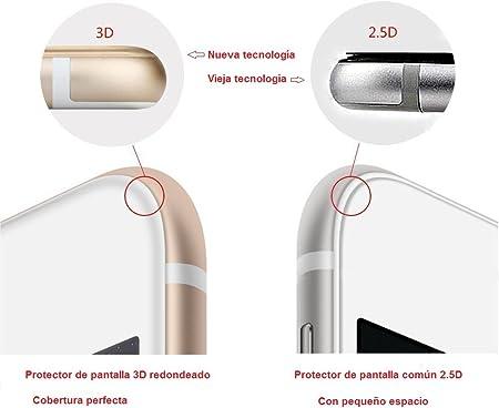 REY Protector de Pantalla Curvo para Sony Xperia X Compact, Transparente, Cristal Vidrio Templado Premium, 3D / 4D / 5D
