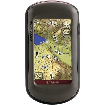 Amazoncom Garmin Oregon T Inch Handheld GPS Navigator With - Us digital topographic maps