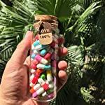INFMETRY-90-Pcs-Capsule-Letters-Message-in-a-Bottle-Glass-Favor-Bottle