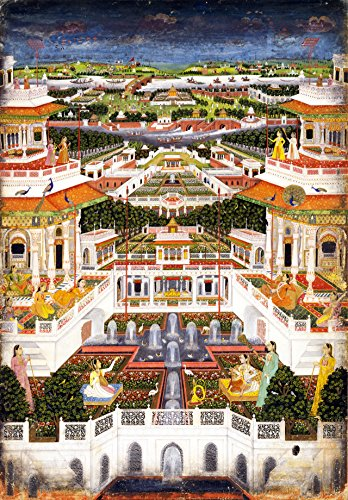 Artifact Puzzles - Indian Palace Wooden Jigsaw Puzzle