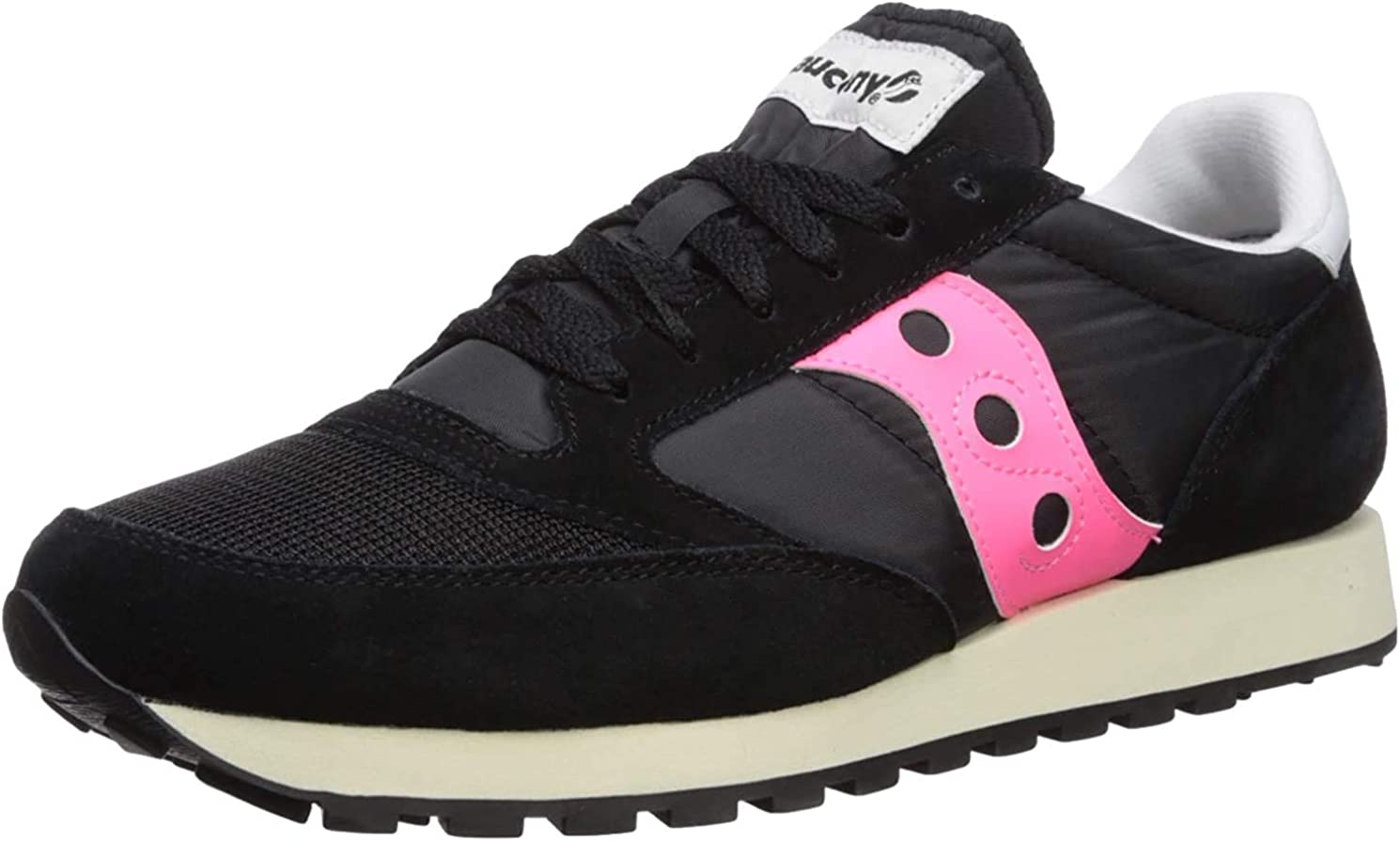 Saucony Men's Jazz Original Sneaker Black/Vizipink