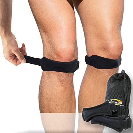 Odeosan Clinique Pack 2 Rodillera Ajustable | Set Protector y Estabilizador Rodilla | Prevenir o Curar