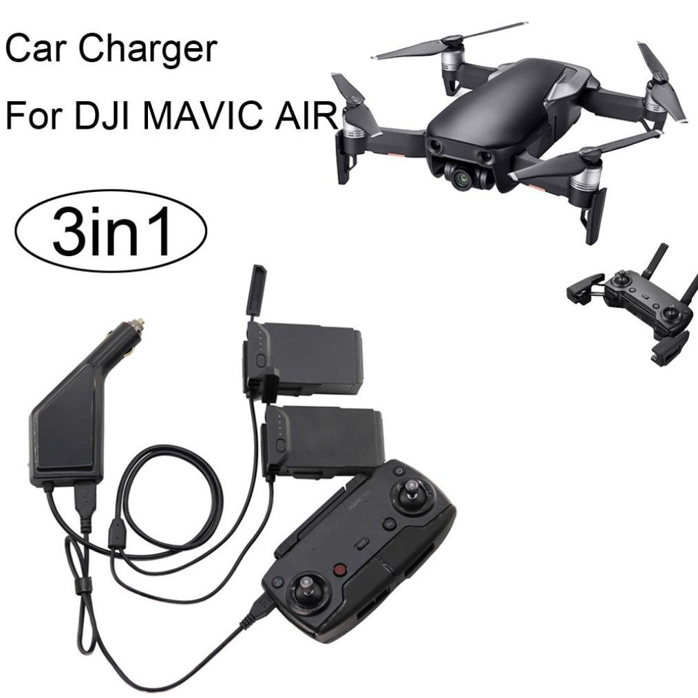 Diadia - Cargador de batería 3 en 1 para DJI Mavic Air Drone ...