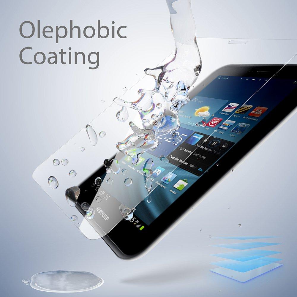 SLEO Protector de Pantalla Samsung Galaxy Tab 2 7.0 GT-P3100, Vidrio Templado Tempered Glass Screen para Samsung Galaxy Tab 2 7.0 GT-P3100: Amazon.es: Hogar