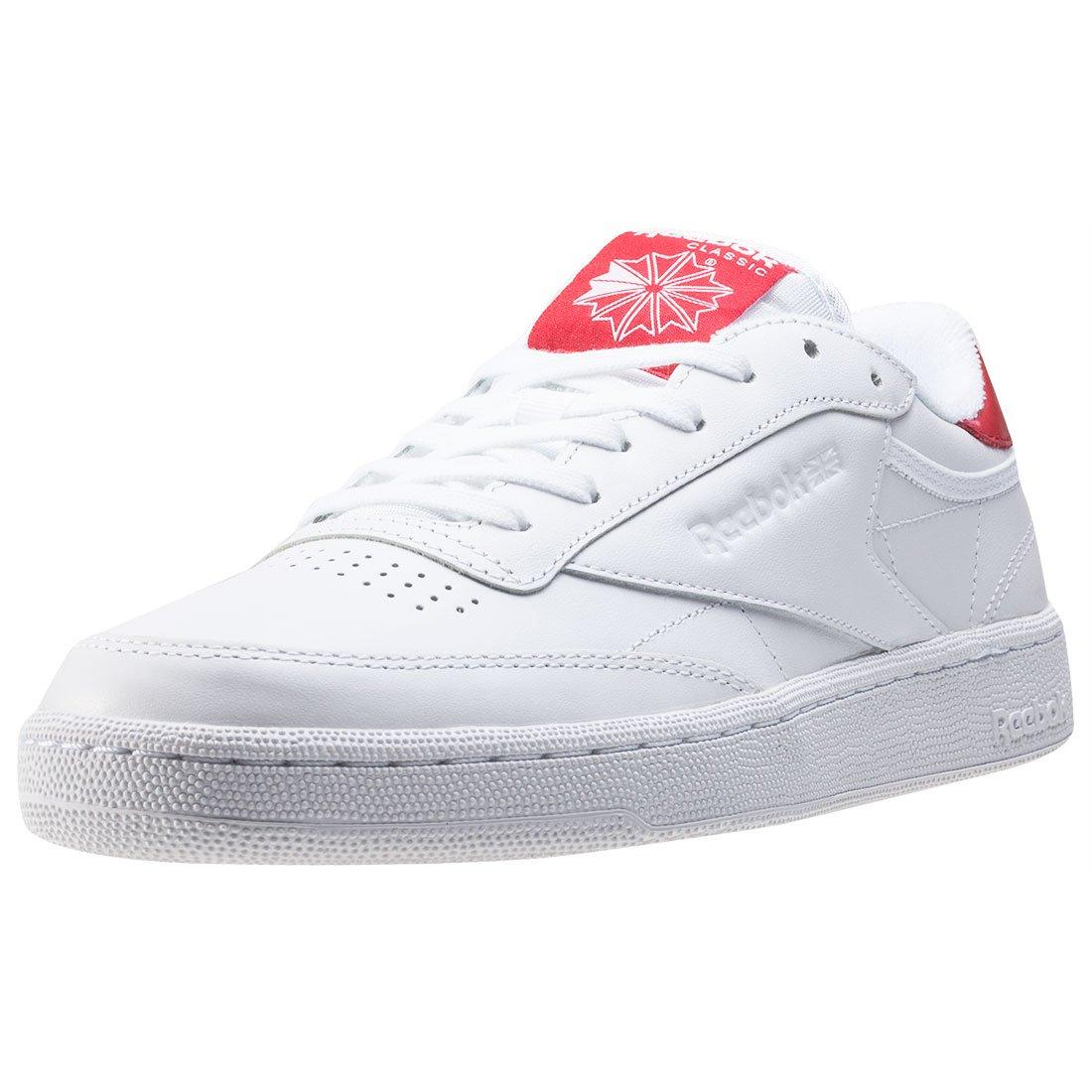 Reebok Herren Schuhe / Sneaker Club C 85 EL  9 UK|White Red