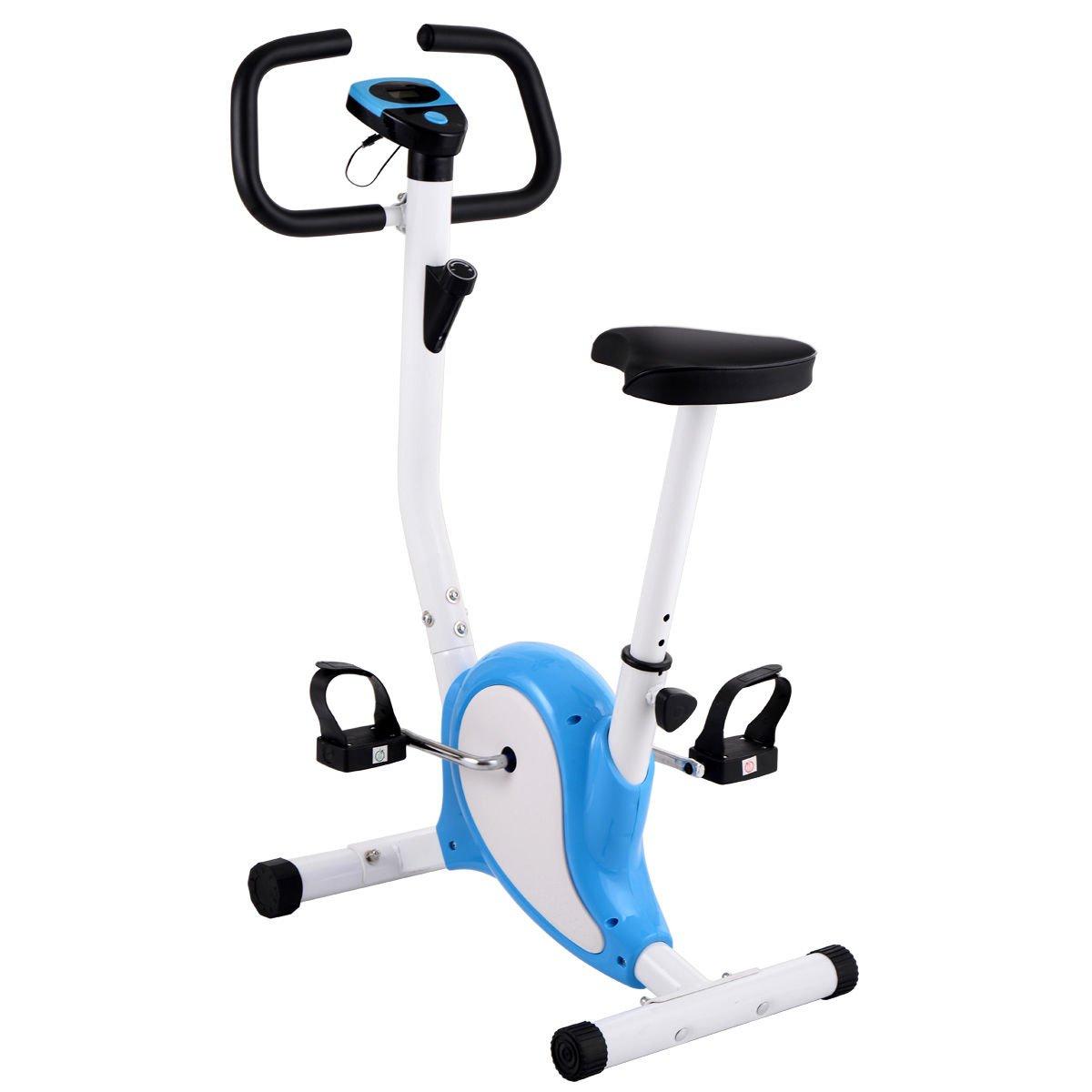 Eight24hours Upright Exercise Bike Cardio Cycling Machine Workout Training Stationary