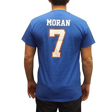 Alex Moran  7 Mountain Goats Blue Jersey T-Shirt State Football Costume ( Large 71307e5e7