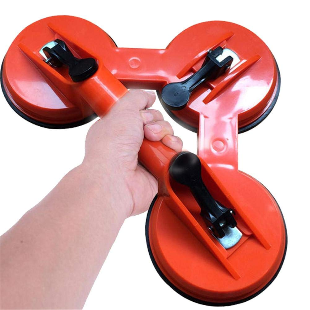 Topaty ABS Plastic Three-Jaw Glass Suction Cup Tile Floor Suction Cup