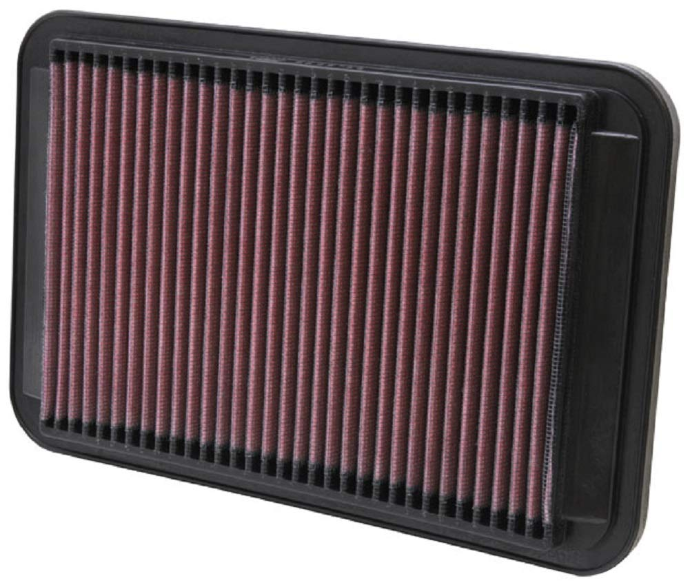 K&N Engine Air Filter: High Performance, Premium, Washable, Replacement Filter: Fits 1991-2002 MAZDA/TOYOTA/CHEVROLET/EUNOS (Millenia, Corolla, Sprinter Trueno, Prizm, 800), 33-2672