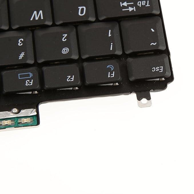 Teclado del Ordenador Portátil para dell latitude D630 D830 Precisión DR160 0dr160 Nos Negro: Amazon.es: Electrónica